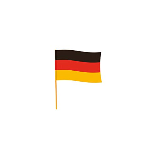 amscan Flagge Deutschland 50 x 70 cm Polyester schwarz/rot/gelb