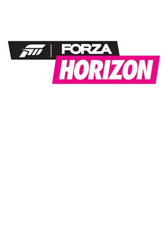 """Forza Horizon Notebook: Minimalist Composition Book 
