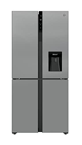 Hoover HSC818FXWDK Multi Door American Fridge Freezer with water dispenser, Stainless Steel
