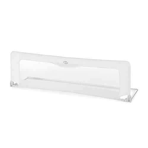Innovaciones MS - Barrera de cama 150cm, color Blanco