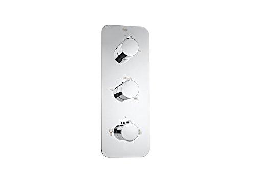 Roca Puzzle-T - grifo termostático empotrable para ducha con desviador de 3 vías . Griferias hidrosanitarias termostaticas. Ref. A5A2978C00