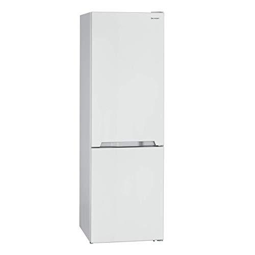 Sharp SJ-BA10IMXW2-EU Kühl-Gefrier-Kombination / A++ / Höhe 186 cm / Kühlteil 230 L / Gefrierteil 94 L / NoFrost / LED-Piktogramme / GentleAirFlow / Gemüseschubfach mit Feuchtigkeitsregler