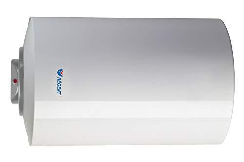 Regent Scaldabagno elettrico orizzontale, 80 litri, 230 V, 1200 W [Classe di efficienza energetica C], bianco