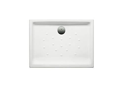 Roca A373512000 - Plato de ducha de porcelana con fondo antideslizante
