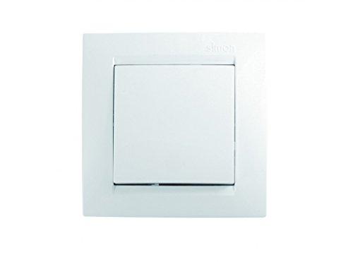 Simon F1590201030 Conmutador serie 15 blanco