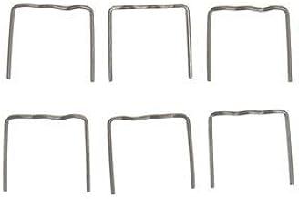 TuToy 100 Stuks Hete Nietjes Nietjes Voor Auto Bumper Spatbord Lastoorts Plastic Reparatieset - 0,8 Mm