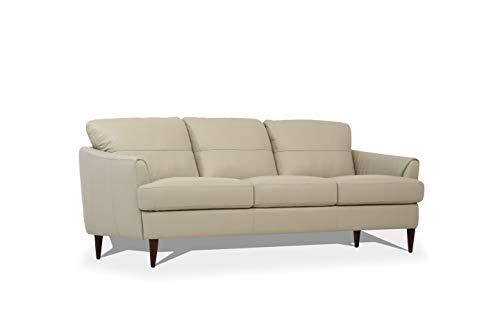 ACME Helena Sofa - - Pearl Gray Leather