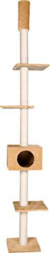 Karlie 34700 Kratzbaum Cometa mit Deckenspanner L: 35 cm B: 35 cm H: 263 cm beige