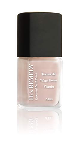 Dr.'S REMEDY Enriched Nail Polish, Perfect Petal Pink, 0.5 Fluid Ounce