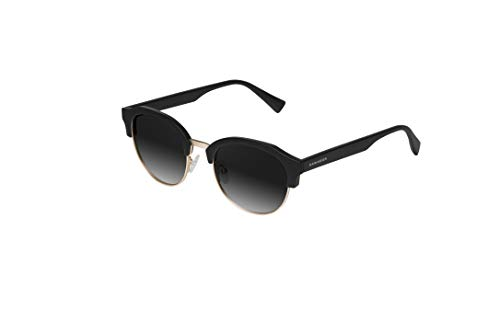 HAWKERS Classic Rounded Gafas de Sol, Negro, One Size Unisex Adulto