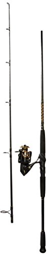 Penn Battle II 5000 Spinning Reel Combo, Surf, 8 Feet, Medium Power