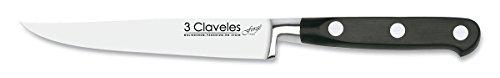 4. 3 Claveles Forgé – Cuchillo chuletero de acero inoxidable 100% forjado
