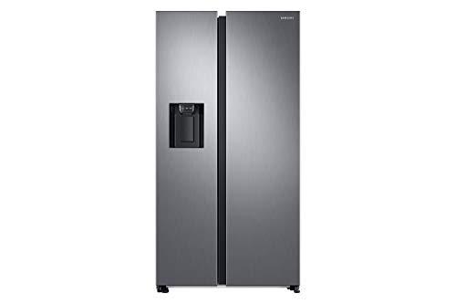 Samsung Elettrodomestici RS68N8322S9 EF Frigorifero Side By Side 617 L, Metal Inox,