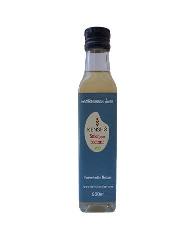 Kensho | Sake para Cocinar Junmai 250 ml. | Sin aditivos | Sin Conservantes | Fermentación Natural | Eco