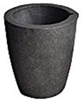 #3 4KG Foundry Clay Graphite Crucibles Cup Furnace Torch Melting Casting