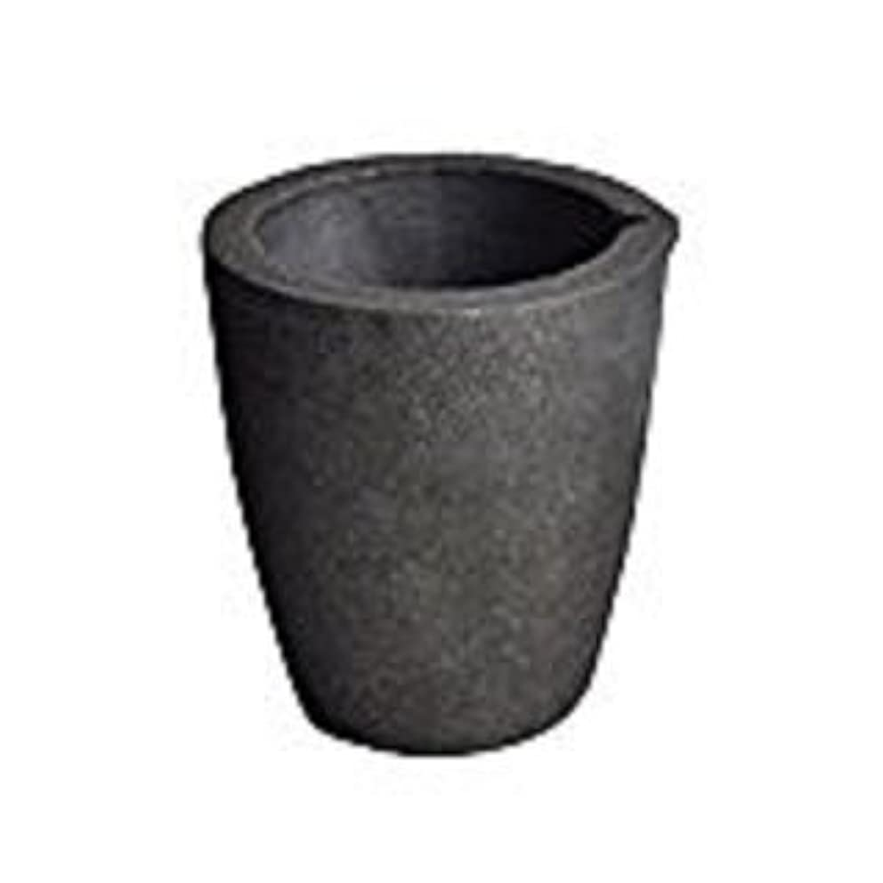 #8-10KG Foundry Clay Graphite Crucibles Cup Furnace Torch Melting Casting Refining Gold Silver Copper Brass Aluminum