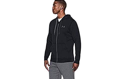 Under Armour 1302290-001 Sweat-Shirt Homme Noir FR : L (Taille Fabricant : L)