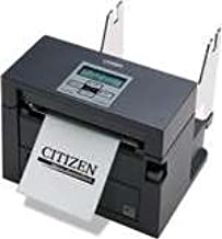 Citizen America CL-S400DTETU-R CL-S400 Series Direct Thermal Barcode Printer with Internal Power Supply, Ethernet, 203 DPI Resolution, 120V, Black