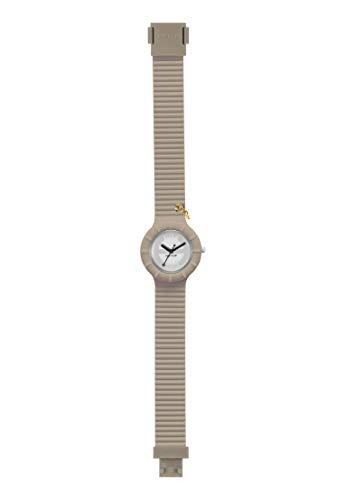 Orologio HIP HOP donna HERO 32 quadrante bianco e cinturino in silicone beige, movimento SOLO TEMPO - 2H QUARZO
