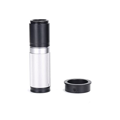 IGOSAIT Professional HAYEAR CCD Industry Microscope Camera C-Mount Lens Glass 5X-150X Camera Zoom Eyepiece Magnifier for HDMI USB 4k Microscope Parts Repair/Nature Observation