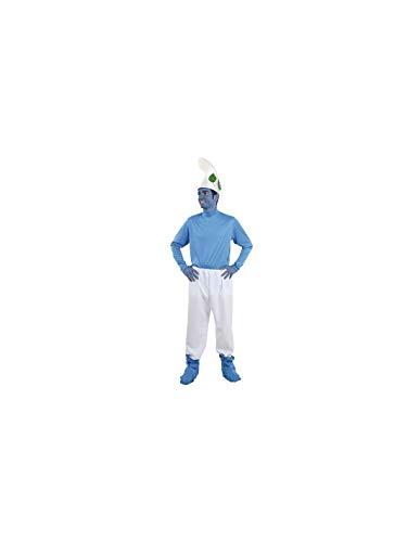 DISBACANAL Disfraz Enano Azul para Hombre - -, XL