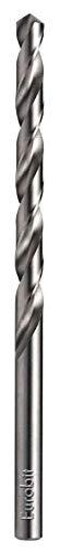 Eurobit 0215 Broca larga de acero HSS-G para metal, DIN 340, 8,5 x 165 mm