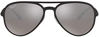 Ray-Ban Designer 58mm Matte Black Men's Sunglasses
