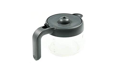 Glaskanne KW716814 kompatibel mit / Ersatzteil für Kenwood COX750BK COX750WH COX750RD kMix Kaffeemaschine