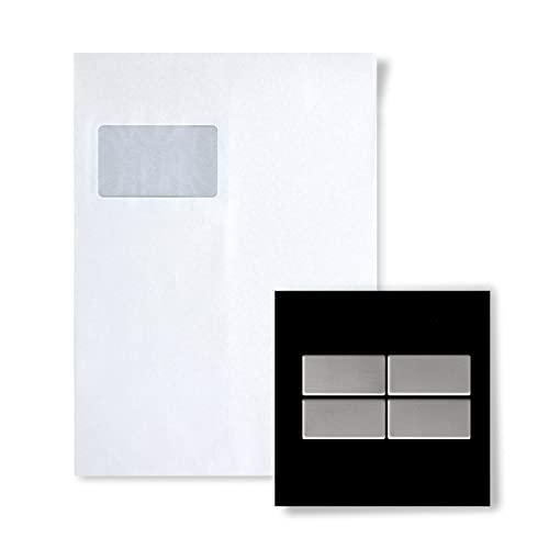 MUESTRA Mosaico S-Bauhaus-S-S-MA Colección Bauhaus Acero inoxidable mate