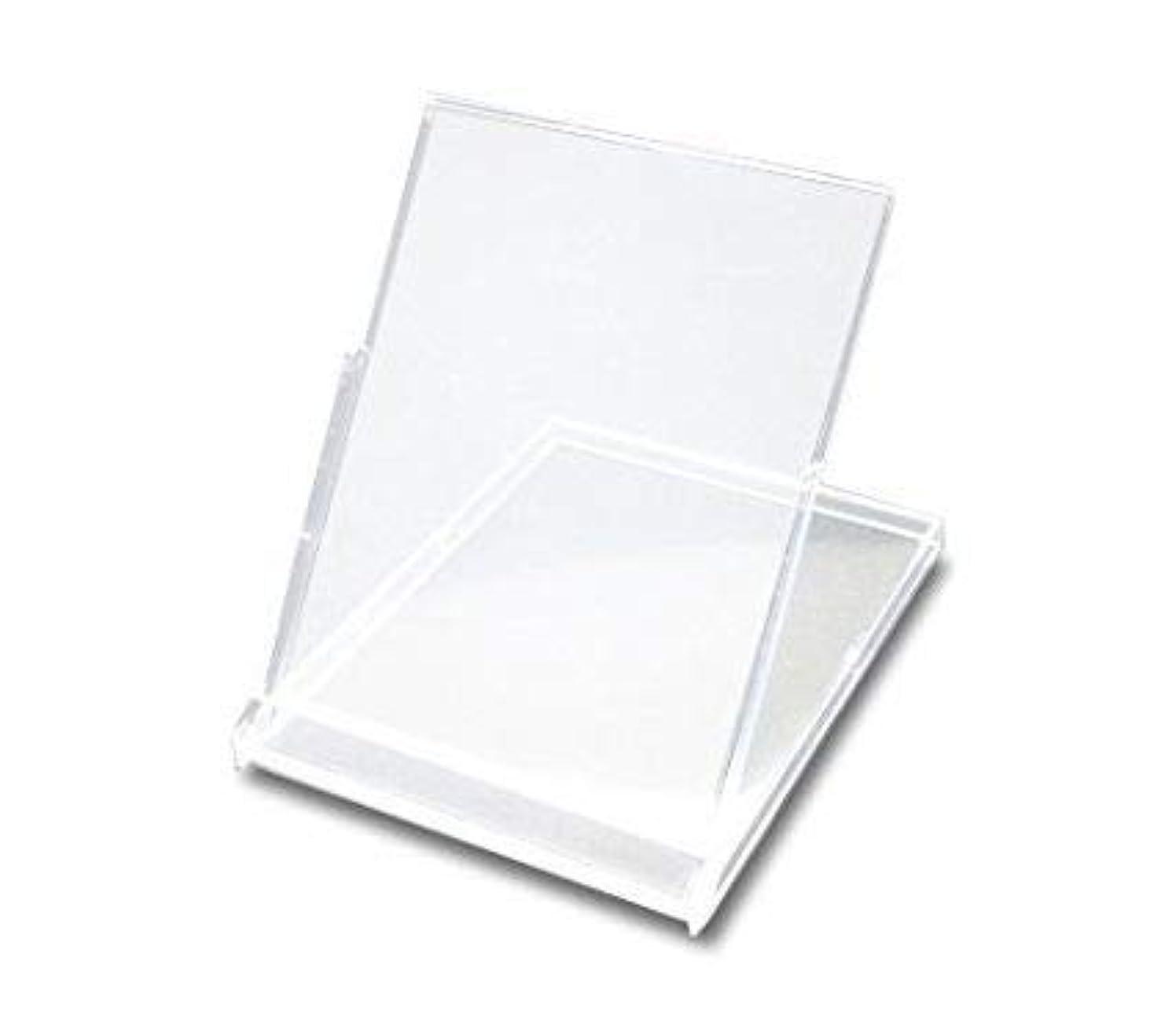 賃金受粉するアシスタント卓上カレンダーケース 10個セット はがきサイズ 縦置きタイプ 透明プラケース