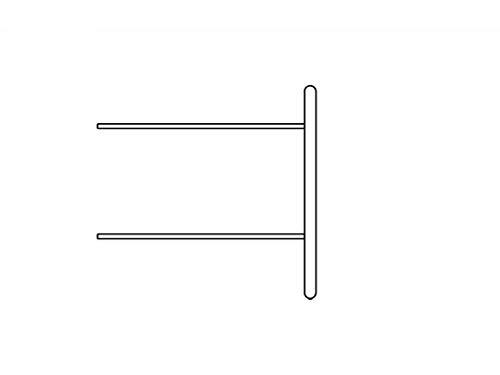 FLEXA Shelfie Erweiterung Mini Regal mit 2 Böden Rahmen Weiß Natur oder Terra 81-26709-40