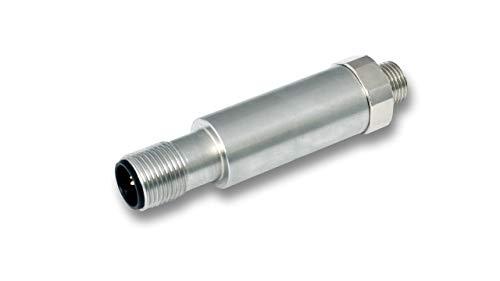 Interruptor de vacío de acero inoxidable, electrónico, con 2 salidas - F08-M2, IO-Link, -1 hasta 0 bar, G1/8', M12-4p, 2xPNP