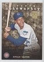 Ernie Banks (Baseball Card) 2001 Topps - Noteworthy #TN40