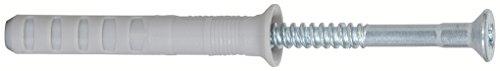 fischer Nageldübel N 8x120/80 S (50) - 50 Stück - Art.-Nr. 50359, grau