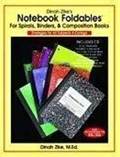 Notebook Foldables (for Spirals, Binders, & Composition Books) by Dinah Zike (2008-05-03)