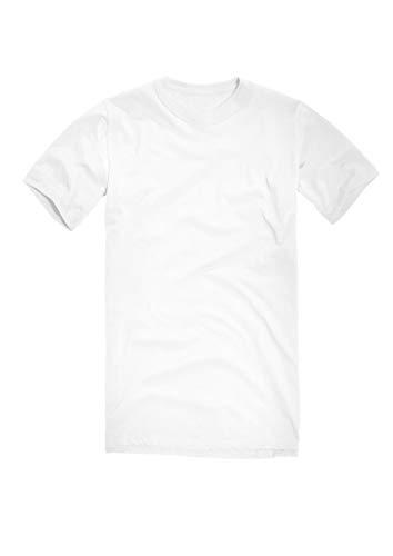BW Bundeswehr T-Shirt Unterhemd (Weiß, 7/L)