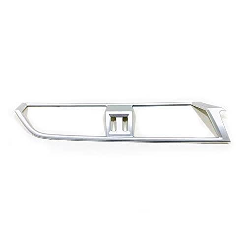 ZBAN 1 PZ. Adatto per Audi. Q3 2019 2020 ABS Accessori per Auto Condizionatore Medio Air Outlet Trim Trim Panel Cover Decoration Cover (Color Name : Matte Silver)
