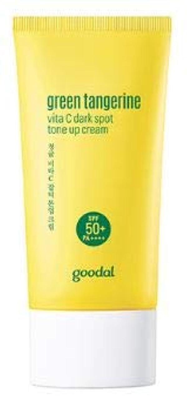 しょっぱい閉塞タップ[Goodal] Green Tangerine vita C Tone up Cream / [グーダル] グリーン タンジェリン ビタC トーンアップ サン クリーム [並行輸入品]
