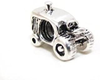 Highest Quality Authentic EvesErose Charm Beads Pendents Sale, Occupations, Sports, Musical instruments, You Choose Style, Fits Authentic Pandora Charms, EvesErose, Chamilia, European Bracelet & Necklace Compatible (Farmer Tractor)