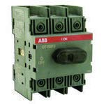 ABB OT100F3 New products world's highest quality popular Disconnect Switch Non-Fused 3P 100A 5 ☆ very popular Base DIN Rai