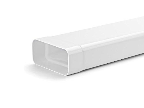 Naber N-VRM 100 Lüftungsrohr mit Muffe, weiß, 500 mm