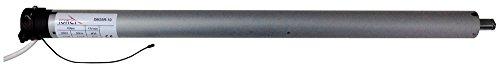 RIBER 150.001 Motor tubular 10NW estándar 35mm con regulación de carrera mecánico vía cable, para eje de 40