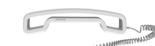 So\'Axess SWCH05W Telefon-Handset mit Station (3,5mm Klinkenstecker) weiß