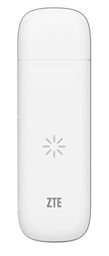 ZTE MF823 Breitband-USB-Dongle mit 6 GB EE SIM-Karte, Weiß