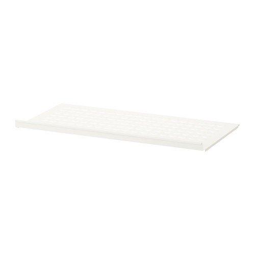Ikea ELVARLI Schuhregal für Aufbewahrungssystem; in weiß; (80x36cm)