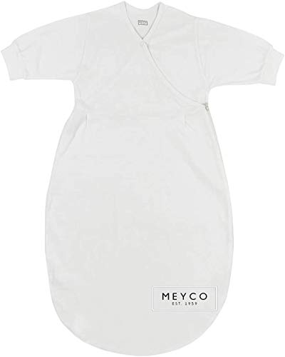 Meyco Baby **Comfort Sleep** Saco de dormir interior/saco de dormir de verano de 100% algodón (74/80).
