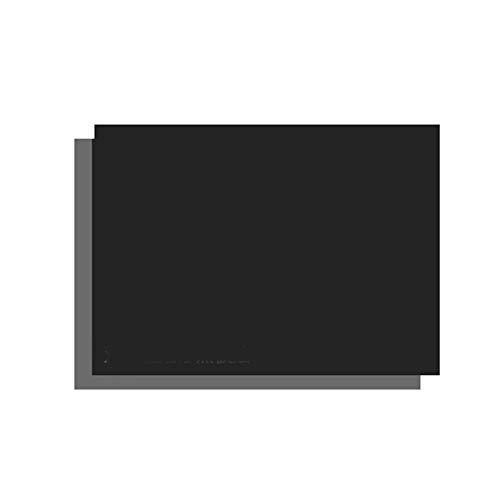 Etiqueta engomada de pared negra magnética de doble capa de 0,9 mm de espesor, regrabable, autoadhesivo, material de protección del medio ambiente para mascotas (Size : 60 * 120cm)