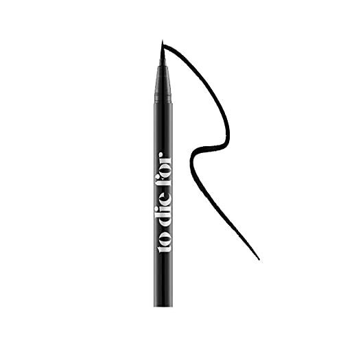 Krash Kosmetics Eyeliner Líquido To Die For - Carbon Black