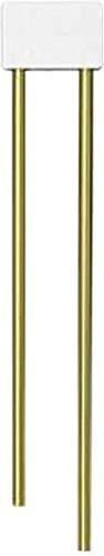 E2683 Röhrengong weiß Messing-Rohre L:766/845mm