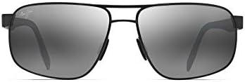Maui Jim Whitehaven Neutral Grey Rectangular Sunglasses (776-02S-63)